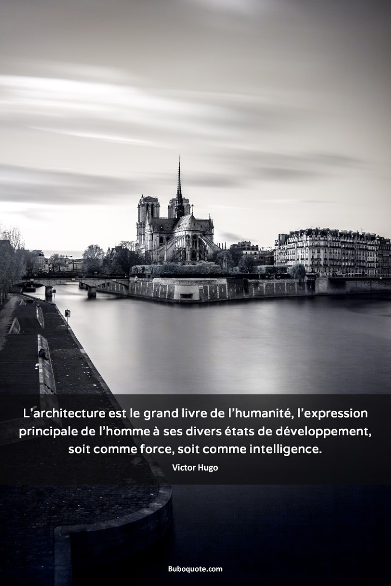 Hugo L Architecture Est Le Grand Livre De L Humanité L